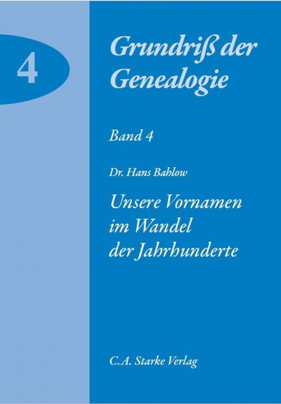 Cover-Bild Unsere Vornamen im Wandel der Jahrhunderte