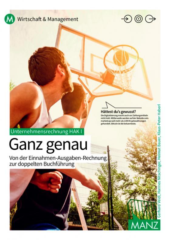 Cover-Bild Unternehmensrechnung HAK I | Ganz genau