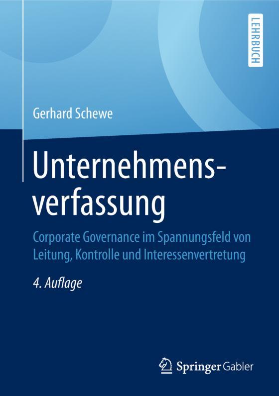 Cover-Bild Unternehmensverfassung
