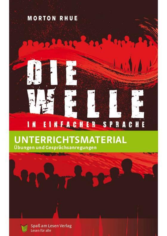 """Cover-Bild Unterrichtsmaterial zu """"Die Welle"""""""