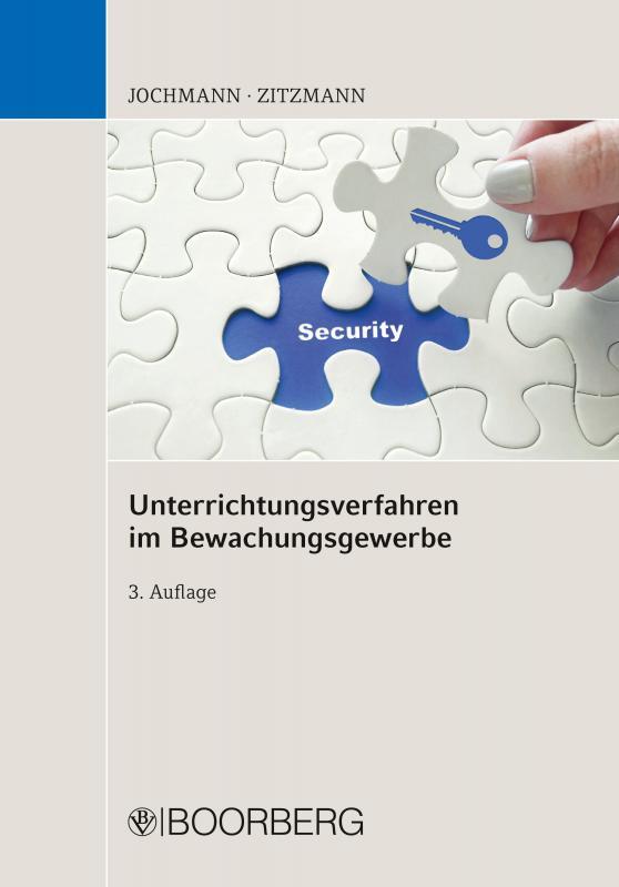 Cover-Bild Unterrichtungsverfahren im Bewachungsgewerbe