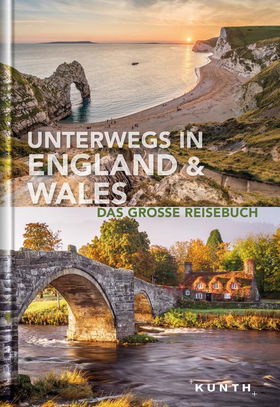 Cover-Bild Unterwegs in England und Wales