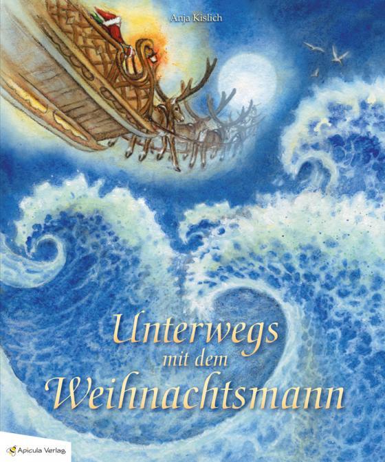 Cover-Bild Unterwegs mit dem Weihnachtsmann