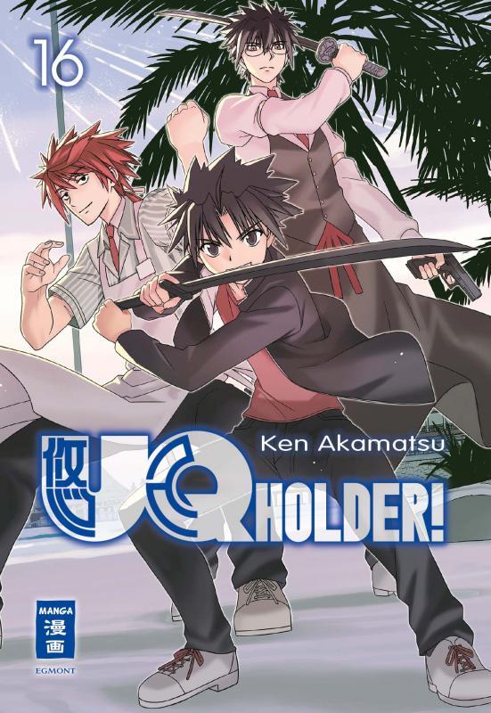 Cover-Bild UQ Holder! 16
