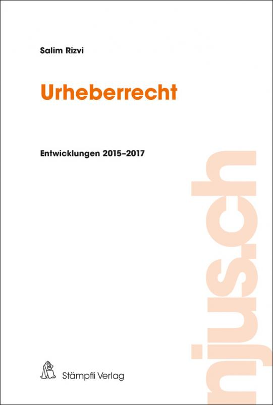Cover-Bild Urheberrecht