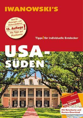 Cover-Bild USA-Süden - Reiseführer von Iwanowski