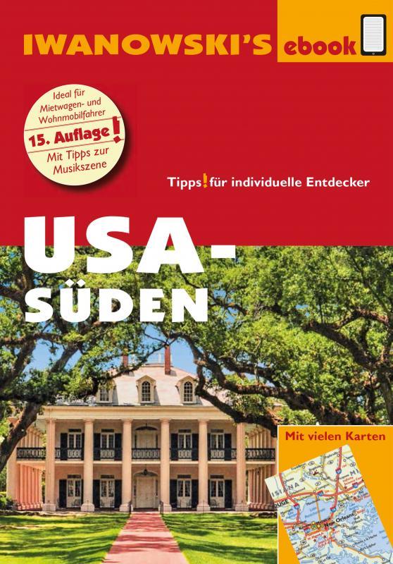 Cover-Bild USA Süden - Reiseführer von Iwanowski