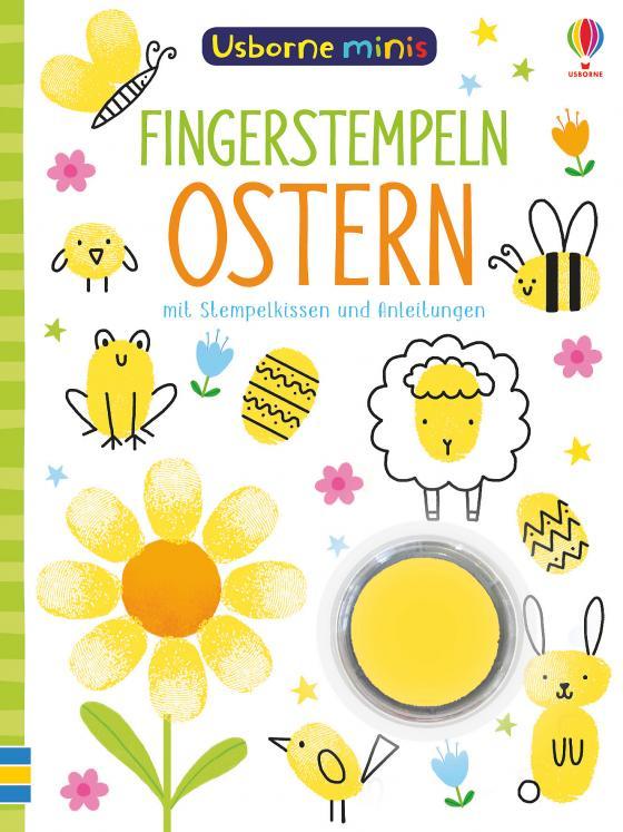 Cover-Bild Usborne Minis - Fingerstempeln: Ostern