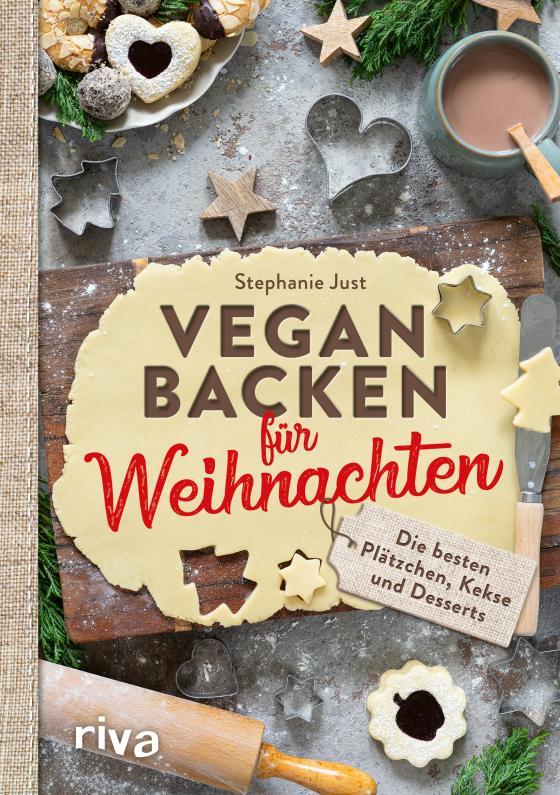 Cover-Bild Vegan backen für Weihnachten
