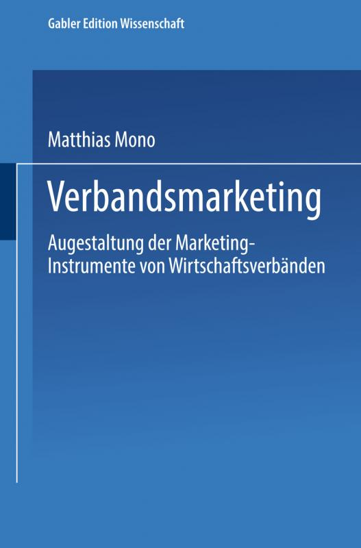 Cover-Bild Verbandsmarketing