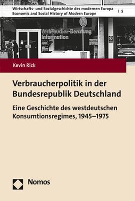 Cover-Bild Verbraucherpolitik in der Bundesrepublik Deutschland