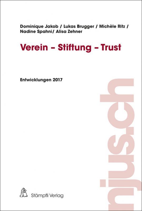 Cover-Bild Verein - Stiftung - Trust