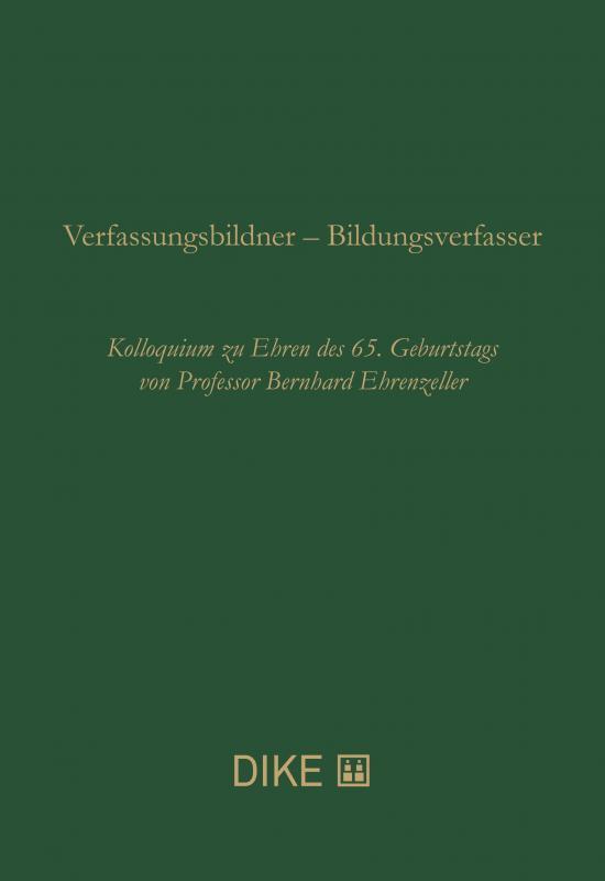 Cover-Bild Verfassungsbildner – Bildungsverfasser