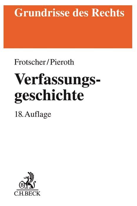 Cover-Bild Verfassungsgeschichte