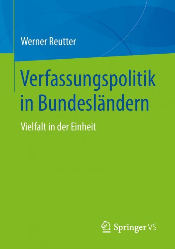 Cover-Bild Verfassungspolitik in Bundesländern