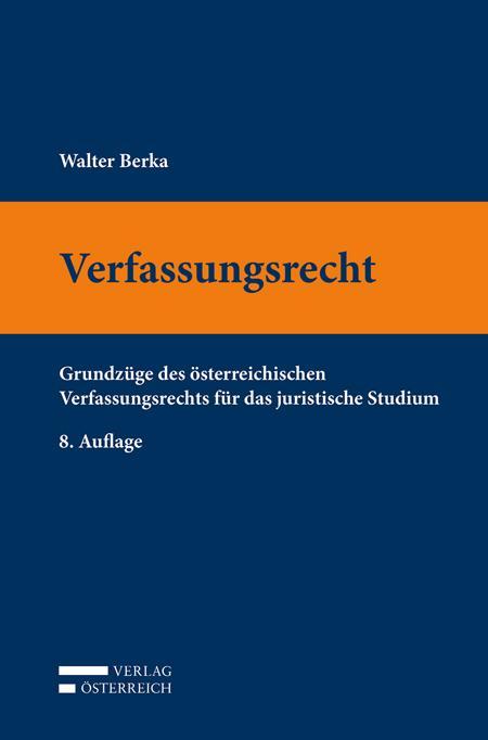 Cover-Bild Verfassungsrecht