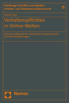 Cover-Bild Verhaltenspflichten in Online-Welten