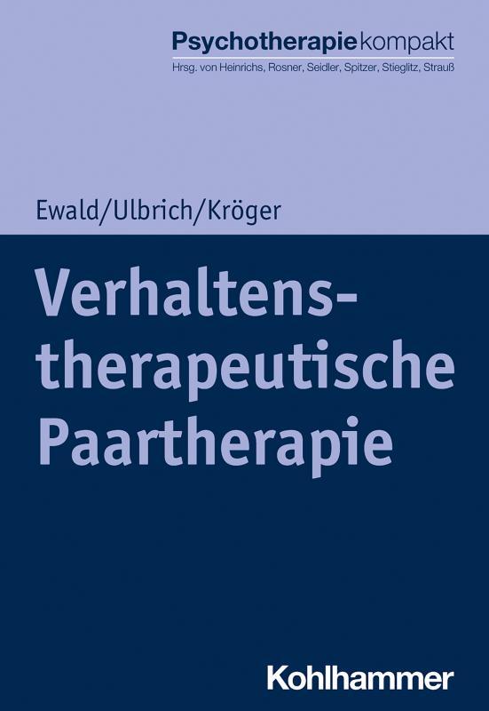 Cover-Bild Verhaltenstherapeutische Paartherapie
