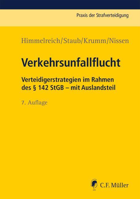 Cover-Bild Verkehrsunfallflucht