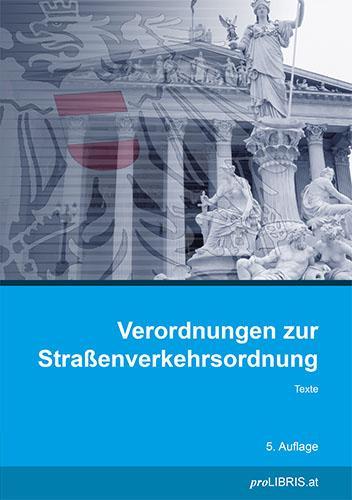 Cover-Bild Verordnungen zur Straßenverkehrsordnung