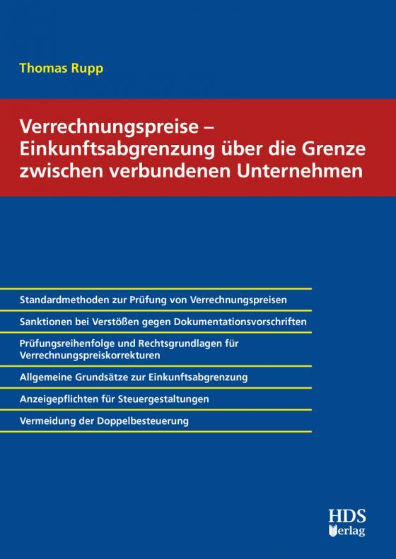 Cover-Bild Verrechnungspreise – Einkunftsabgrenzung über die Grenze zwischen verbundenen Unternehmen