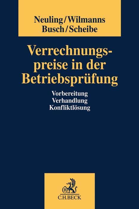 Cover-Bild Verrechnungspreise in der Betriebsprüfung