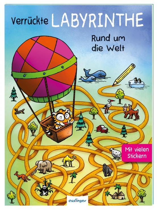 Cover-Bild Verrückte Labyrinthe