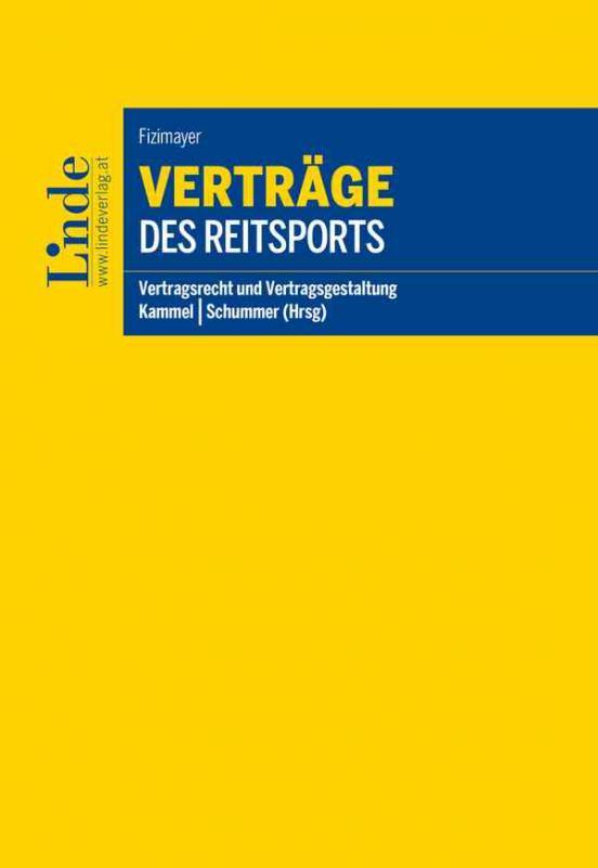 Cover-Bild Verträge des Reitsports