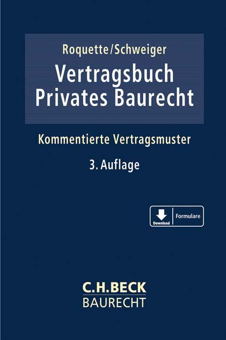 Cover-Bild Vertragsbuch Privates Baurecht