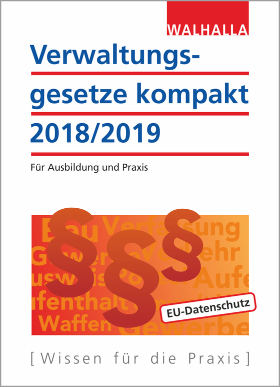 Cover-Bild Verwaltungsgesetze kompakt