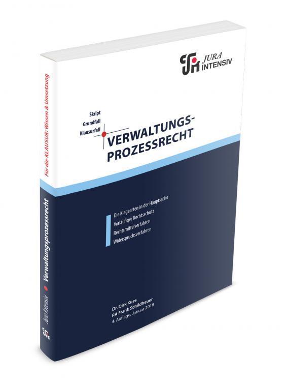 Cover-Bild Verwaltungsprozessrecht
