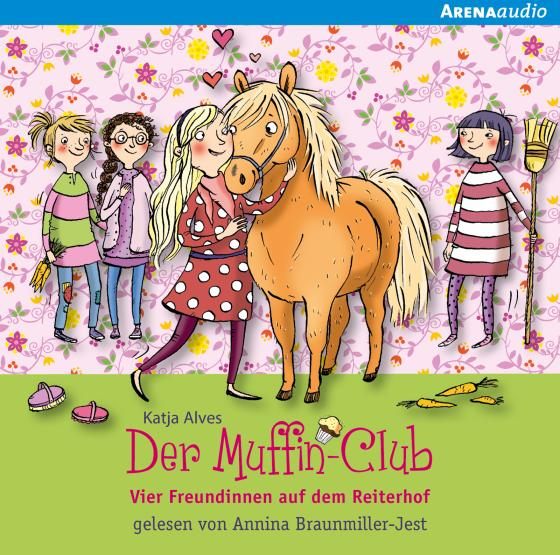 Cover-Bild Vier Freundinnen auf dem Reiterhof