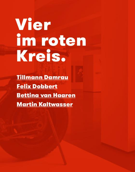 Cover-Bild Vier im roten Kreis.