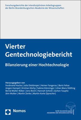 Cover-Bild Vierter Gentechnologiebericht