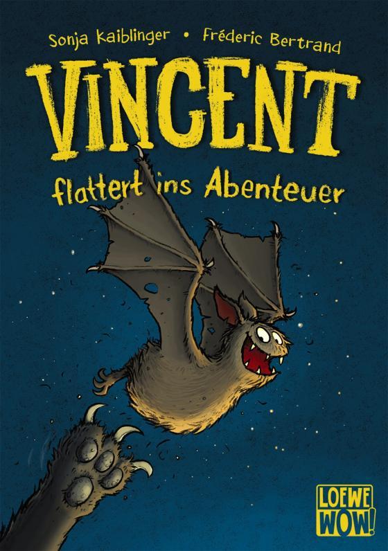 Cover-Bild Vincent flattert ins Abenteuer (Band 1)