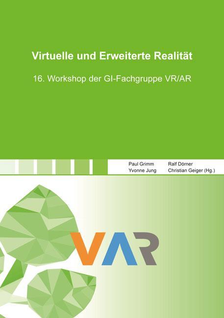 Cover-Bild Virtuelle und Erweiterte Realität