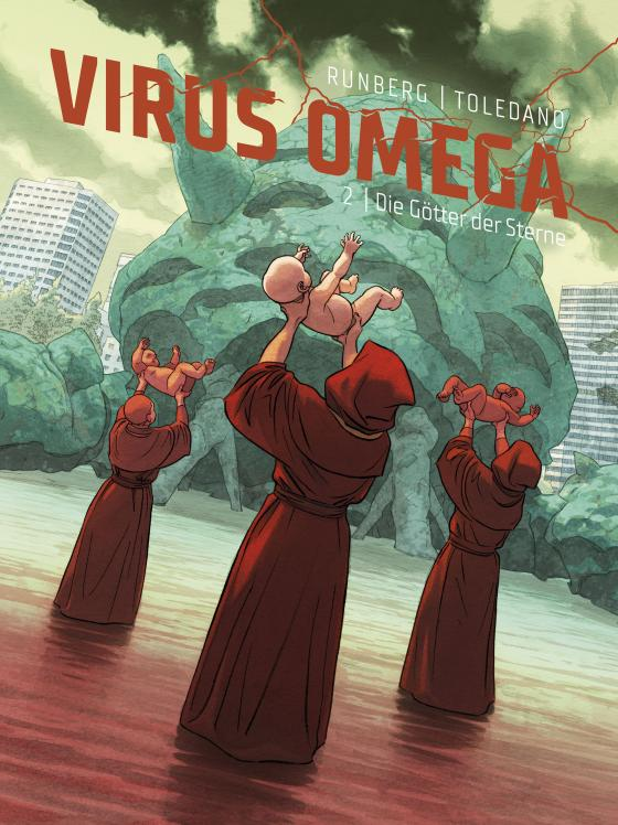 Cover-Bild Virus Omega 2: Die Götter der Sterne