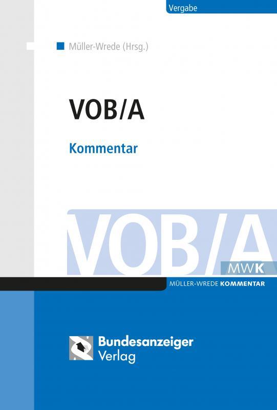 Cover-Bild VOB/A