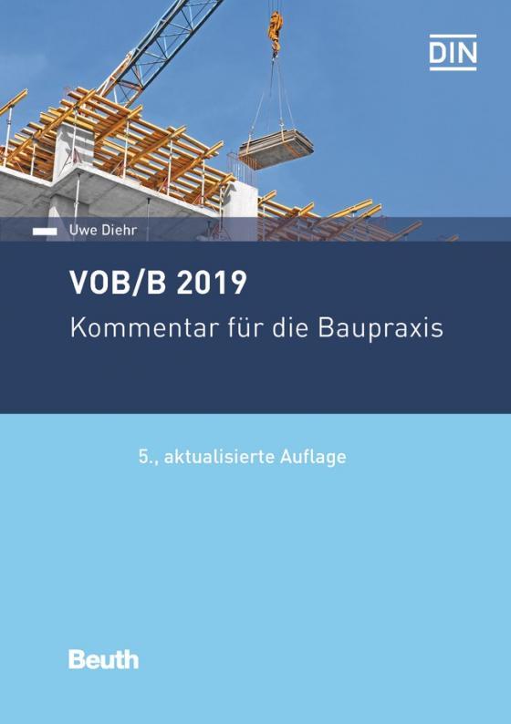 Cover-Bild VOB/B 2019