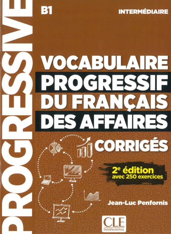 Cover-Bild Vocabulaire progressif du français des affaires, Niveau intermédiaire