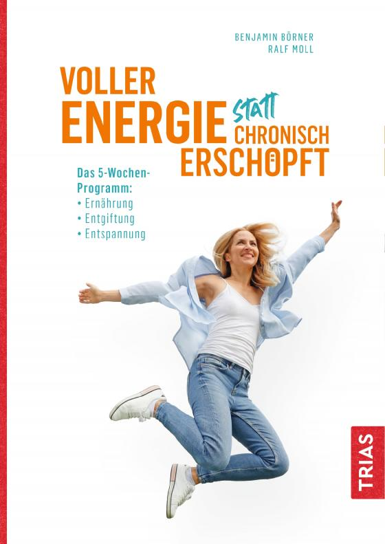 Cover-Bild Voller Energie statt chronisch erschöpft