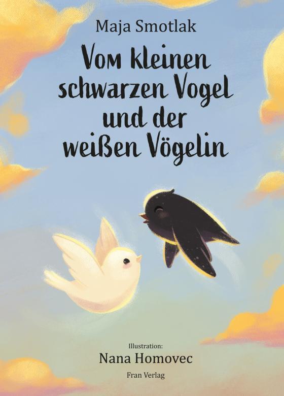 Cover-Bild Vom kleinen schwarzen Vogel und der weißen Vögelin