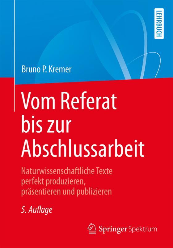 Cover-Bild Vom Referat bis zur Abschlussarbeit