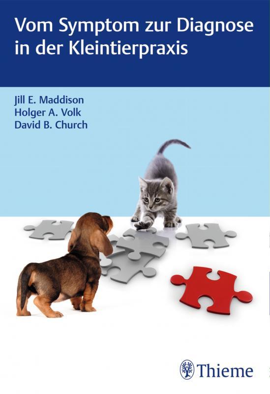 Cover-Bild Vom Symptom zur Diagnose in der Kleintierpraxis