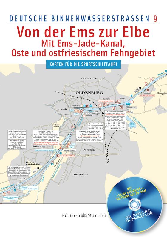 Cover-Bild Von der Ems zur Elbe