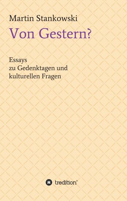 Cover-Bild Von Gestern?