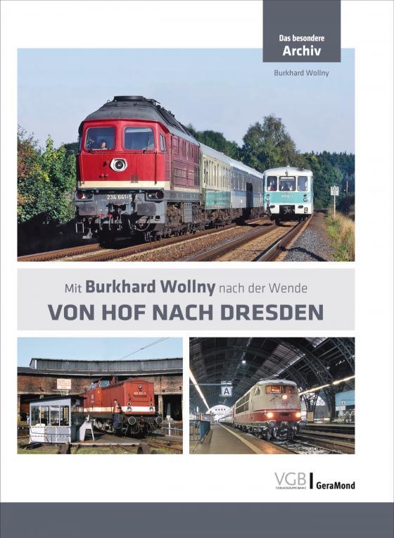 Cover-Bild Von Hof nach Dresden