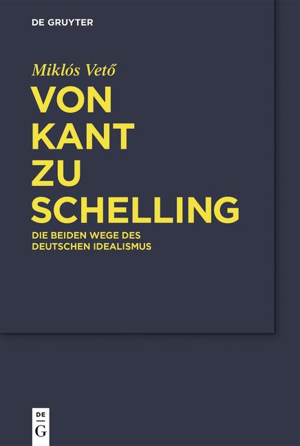 Cover-Bild Von Kant zu Schelling