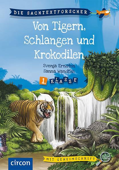 Cover-Bild Von Tigern, Schlangen und Krokodilen