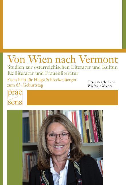 Cover-Bild Von Wien nach Vermont